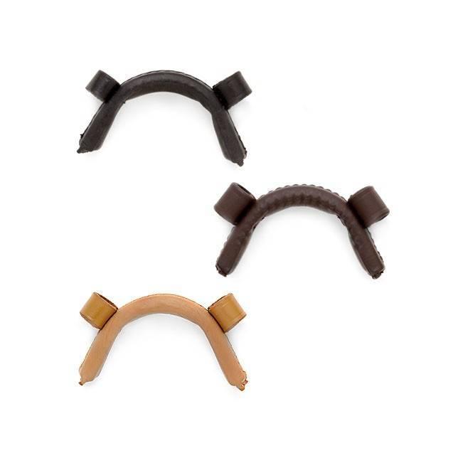 Muserola para caballo forrada con pasadores