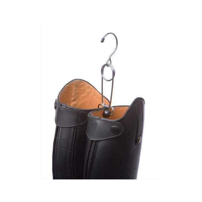 Percha cuelgabotas para botas de jinete