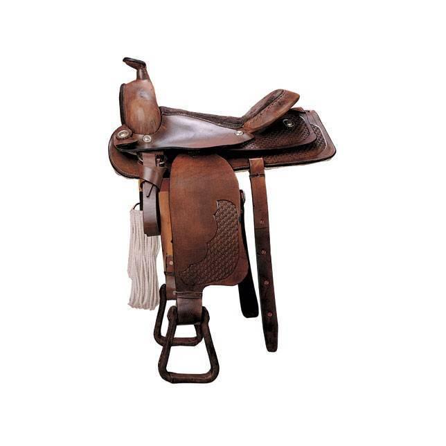silla tejana, silla estilo tejana, silla de montar tejana