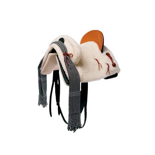 silla vaquera, silla vaquera flexible, silla caballo