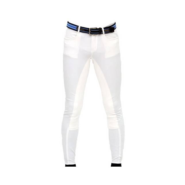 pantalon de montar, culera de cuero, breezhes, full seat, pantalon ZMS Saddlery