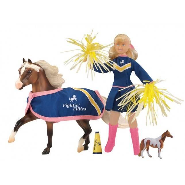 animadora breyer, juguete caballo, juguete hipica, niña hipica