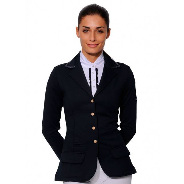 Chaqueta de concurso Spooks sequin para mujer navy