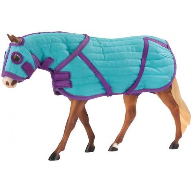 manta breyer, juguete hipica, juguete caballo, niño caballos