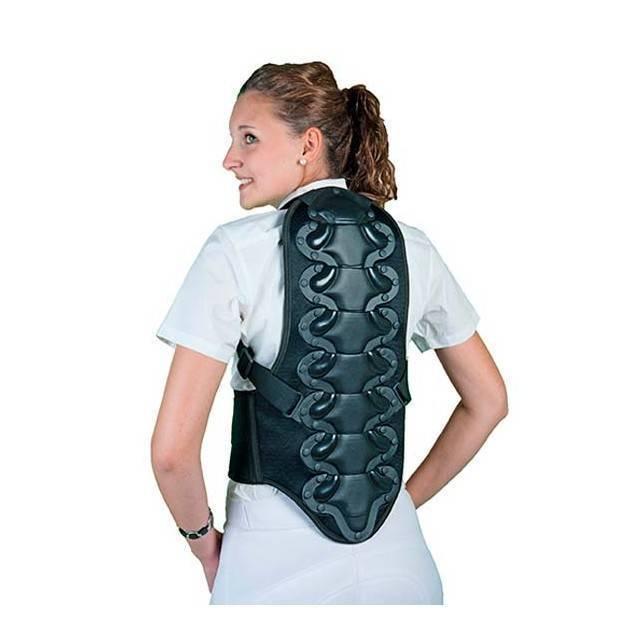 Protector de espalda chaleco para montar a caballo