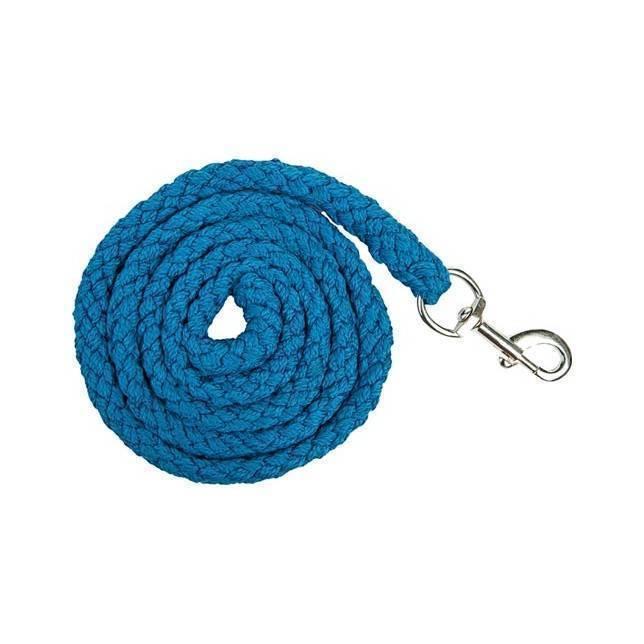 Ramal para caballo HKM Stars Softice mosqueton azul violaceo