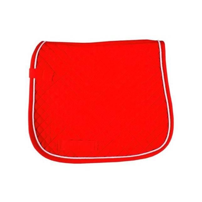 Mantilla guateada de doma HKM rojo blanco
