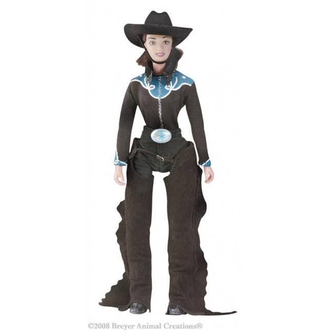 juguete cowboy, juguete breyer, breyer cowboy, juguete hipica