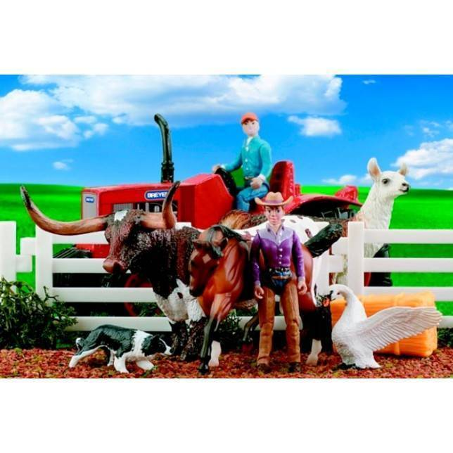 juguete breyer, juguete tractor, juguete hipica, tractor niño