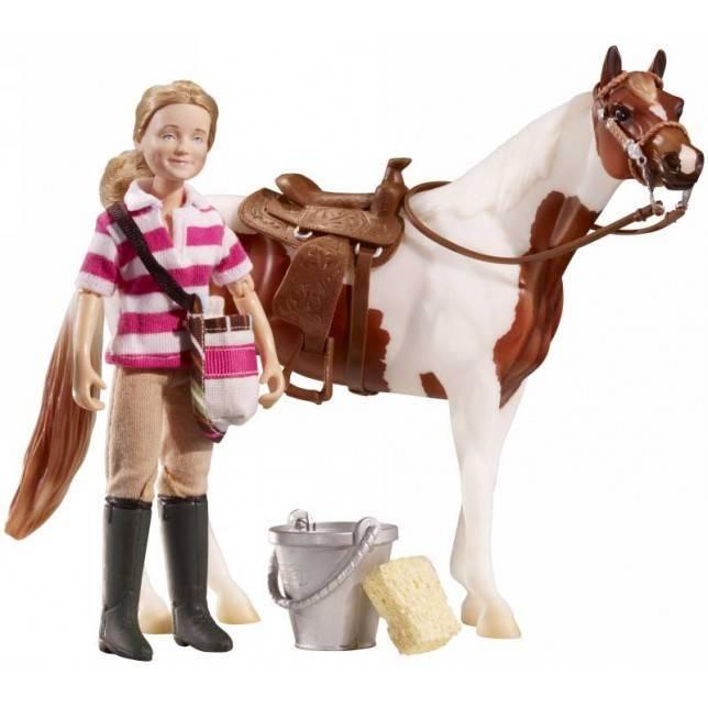 juguete breyer, niña caballo, juguete hipica, juguete caballo