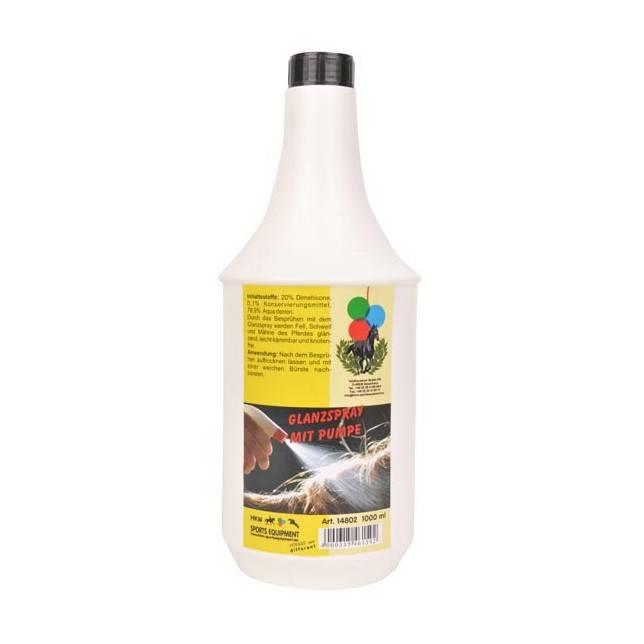 spray abrillantador, abrillantador caballo
