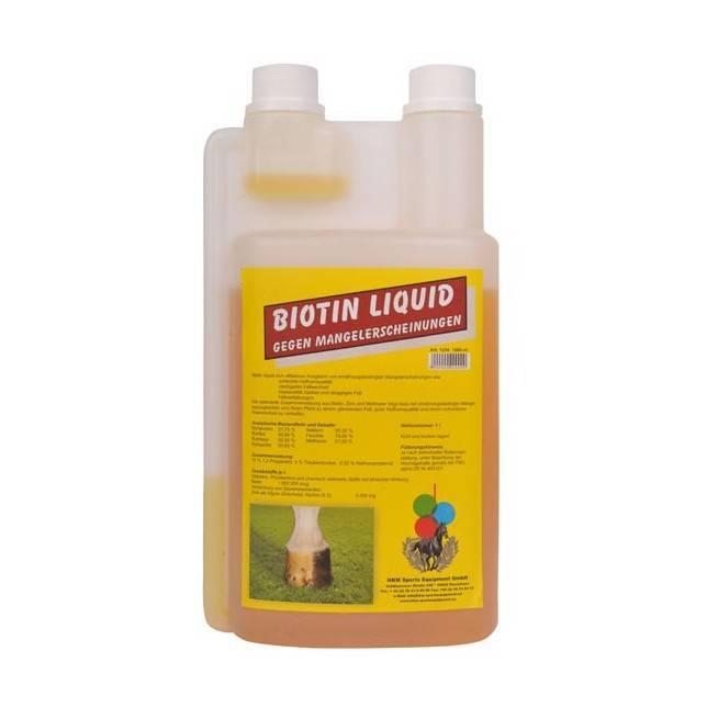 champu biotina de caballo en líquido