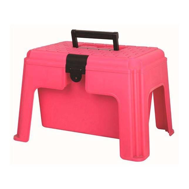 Caja de limpieza para caballo rosa