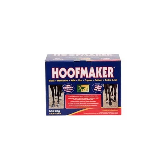Regenerador de cascos Hoofmaker en 60 sobres de 20 mg