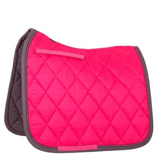Mantilla para caballo de doma clasica br event color rosa brillante
