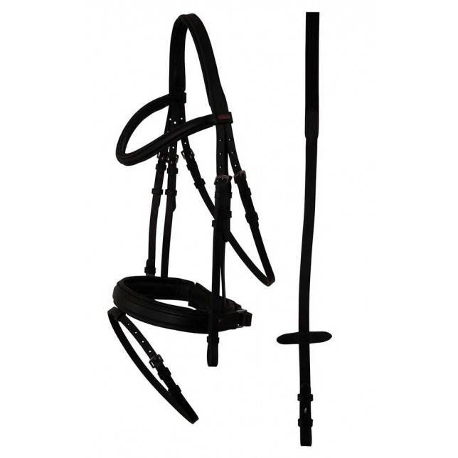 Cabezada de caballo de filete premiere toulon negro