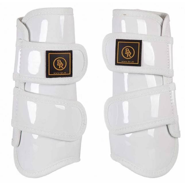 Protectores de tendón de caballo BR Pro Max Charol blanco