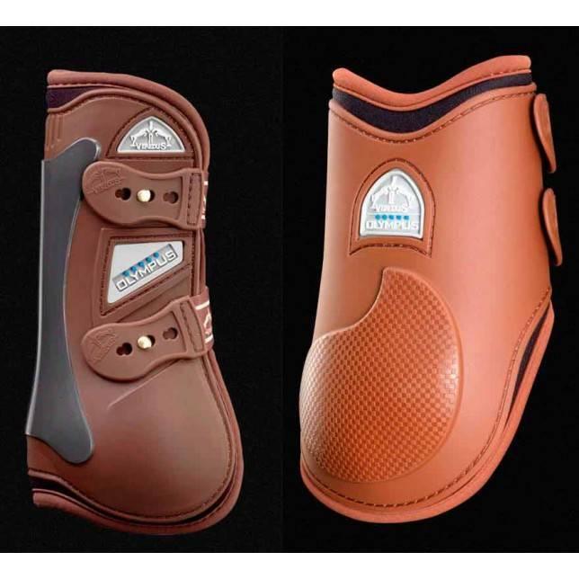 Pack protectores Veredus Olympus marrón