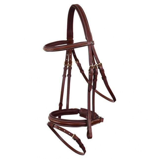 Cabezada para caballo de la marca BR Hadleigh kombi marron