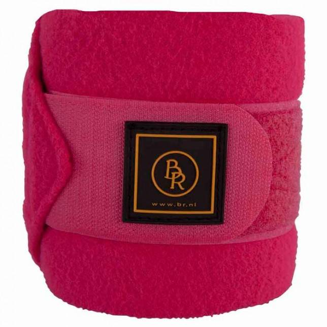 Vendas para caballo de polo br event color rosa brillante polares
