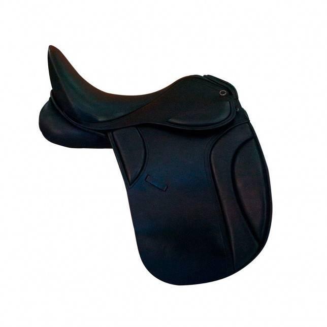 Silla de doma para caballo Queen dressage modelo pirouette