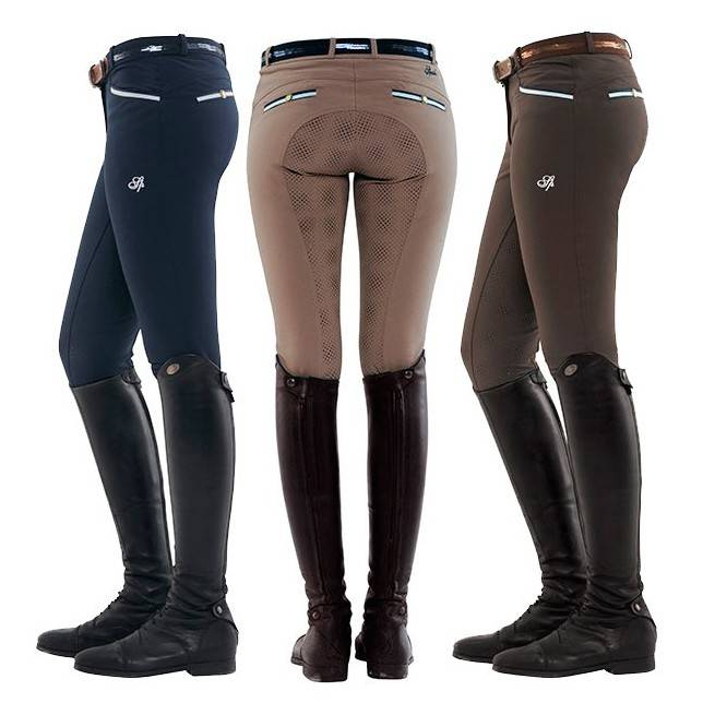 Pantalones de montar de mujer Ricarda full grip