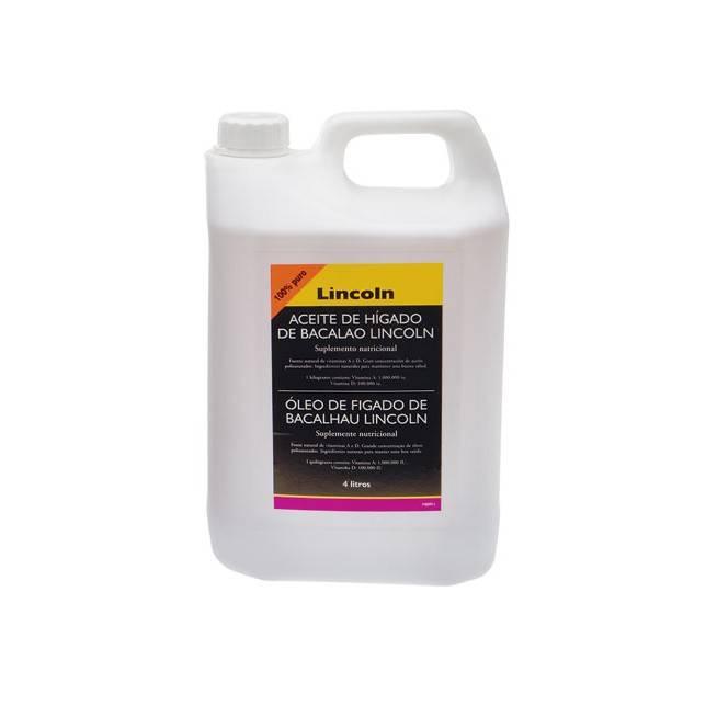 Aceite de hígado de bacalao lincoln para caballo