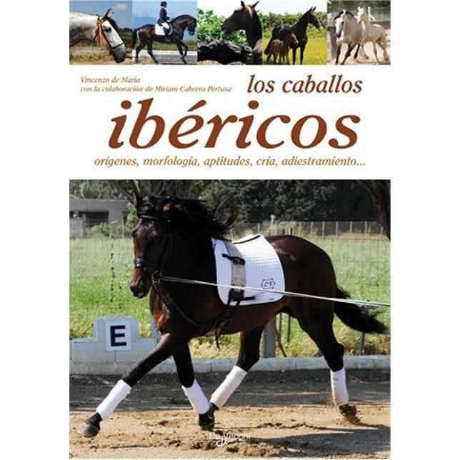 Libro Los caballos ibéricos - Vincenzo de Maria