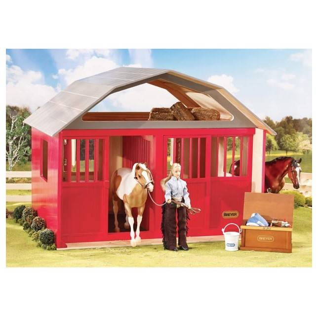 Establo Breyer 307 stall barn