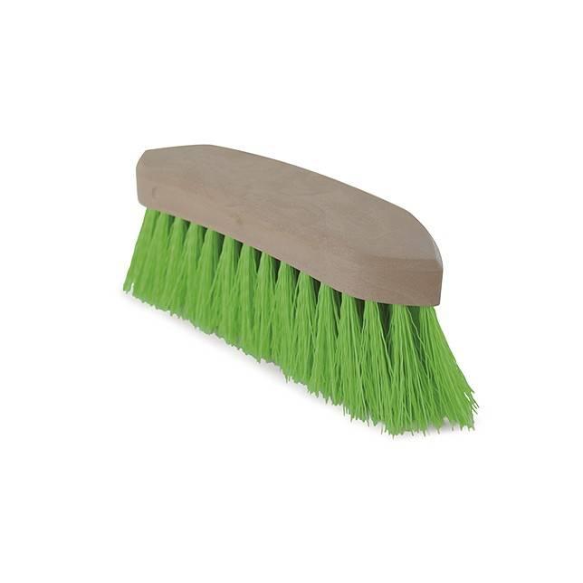 Cepillo verde cerda larga gruesa para caballo