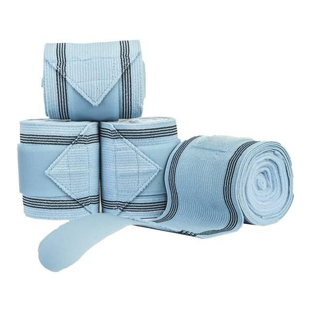 Vendas combinadas de fibra polar y elástica, juego de 4