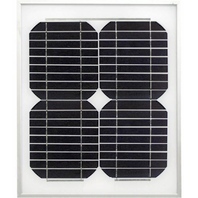 Panel solar de 10w para pastor eléctrico Zar