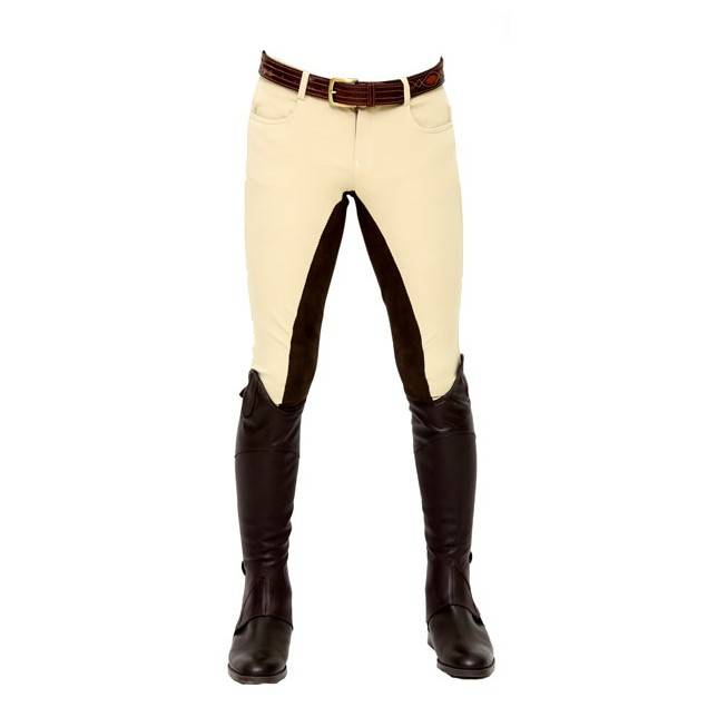 PANTALÓN ZMS HOMBRE FULL SEAT BEIGE CHOCOLATE