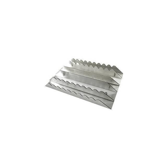 Almohaza rectangular de aluminio brasileña Ekkia