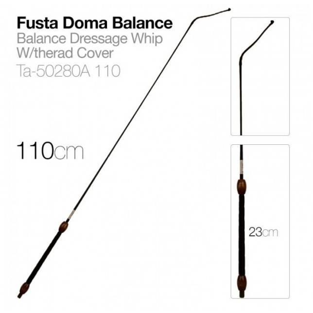 Fusta de doma Balanza Zaldi 110 cm