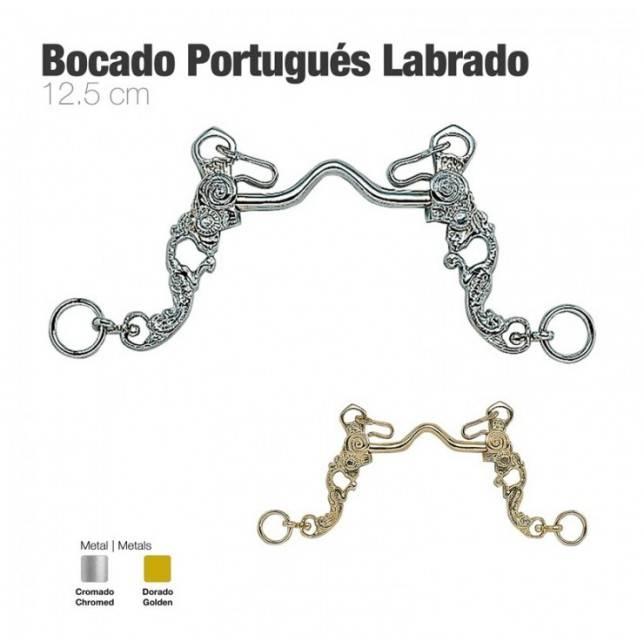 Bocado portugués labrado zaldi