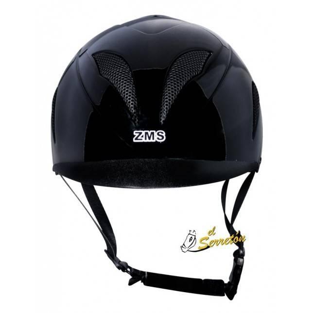 Casco para montar ZMS Saddlery negro