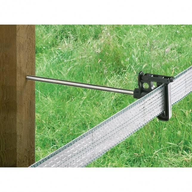 Aislador rosca madera 20 cm