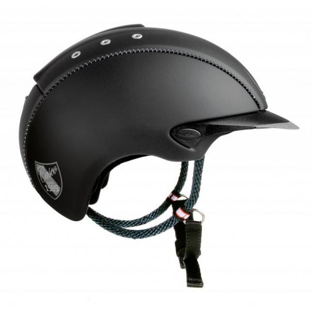 Casco de montar Cas-co Mistrall new negro