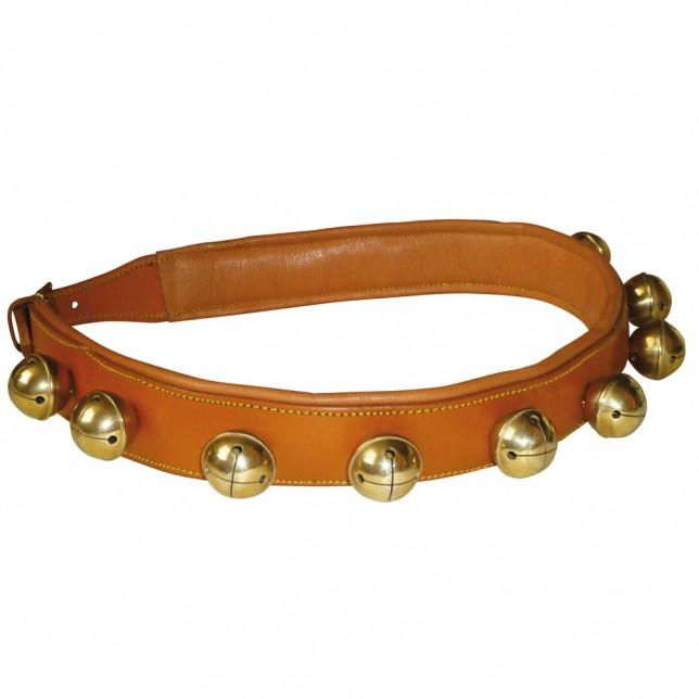 Collar de cascabeles para enganche avella/dorado
