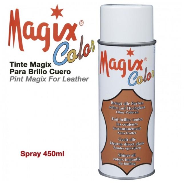 TINTE MAGIX PARA EL BRILO DEL CUERO MAGIX EN SPRAY 470ML
