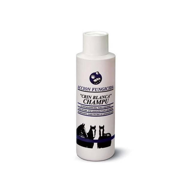 Champú Crin Blanca para caballo con insecticida y fungicida