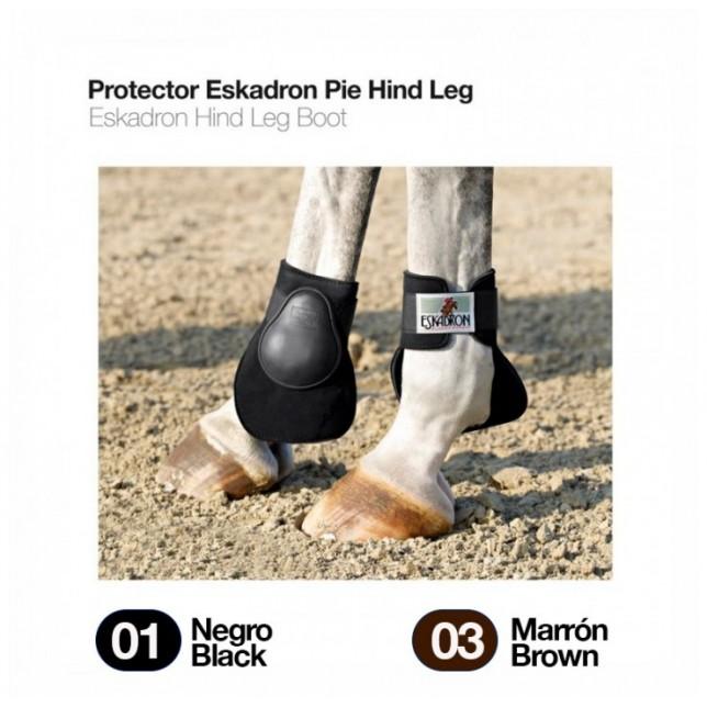 PROTECTOR ESKADRON PIE HIND LEG 51052 NEGRO