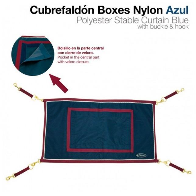 PUERTA PARA BOX NYLON AZUL