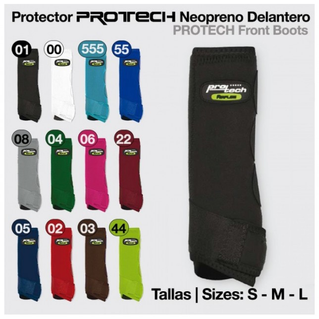 PROTECTOR PROTECH NEOPRENO DELANTERO