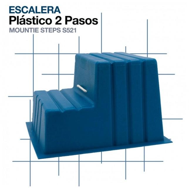 ESCALERA PLÁSTICO 2 PASOS