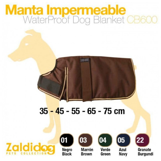 MANTA PERRO IMPERMEABLE CB600