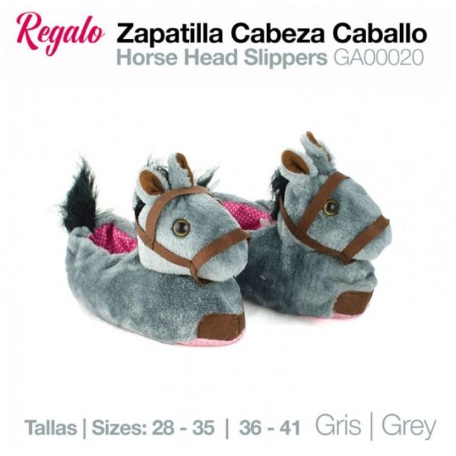 ZAPATILLAS CABEZA CABALLO