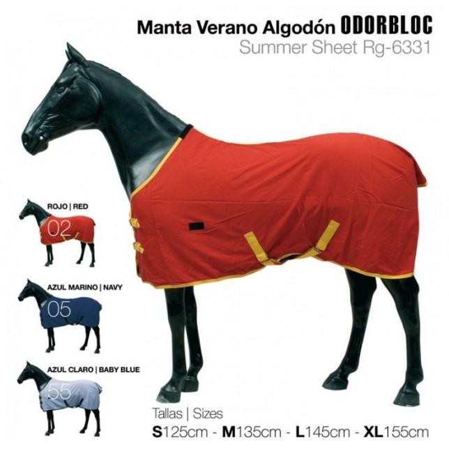 MANTA DE VERANO ALGODÓN ODORBLOC