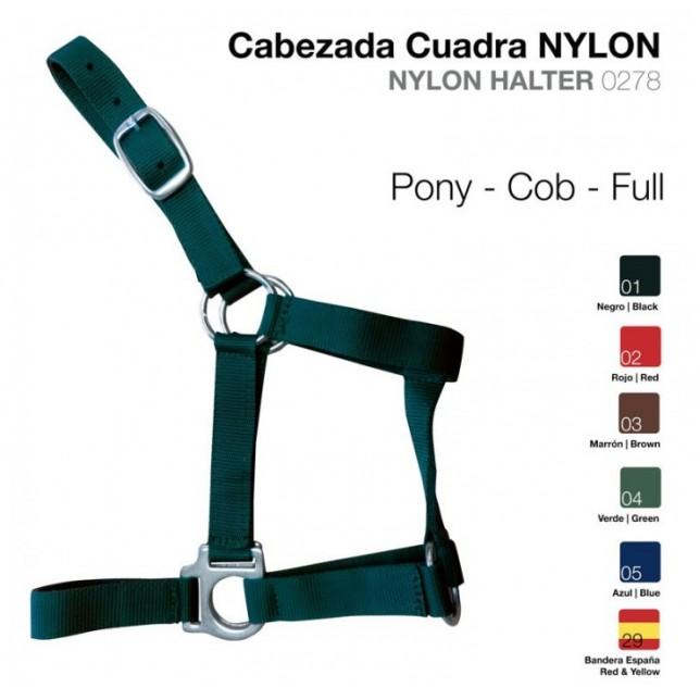 CABEZADA CUADRA NYLON ZALDI
